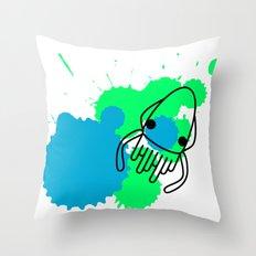 Calamar Throw Pillow