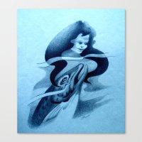 Hinauri's Fish Canvas Print