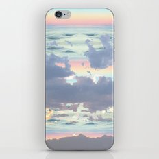 Pastel Ocean Sky iPhone & iPod Skin