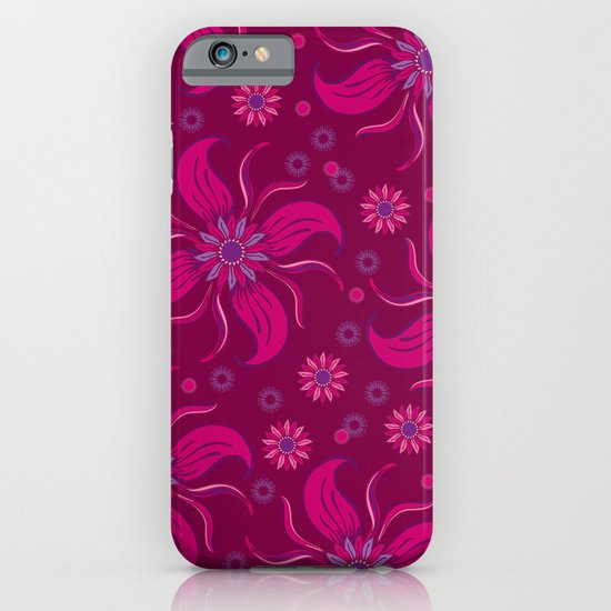 Floral Obscura Wine iPhone & iPod Case
