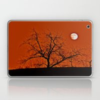 Red Sky Moon Laptop & iPad Skin