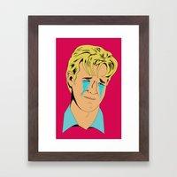 Crying Icon #1 - Dawson Leery Framed Art Print