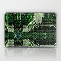 Circuit Board Very Green… Laptop & iPad Skin