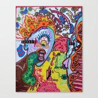 singing cyclops Canvas Print