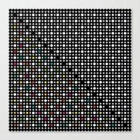 Dots 2 Canvas Print