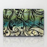 Swirl and Curl iPad Case
