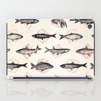 Fishes In Geometrics (Re… iPad Case