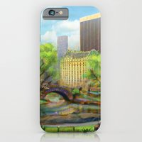 iPhone & iPod Case featuring Gapstow Bridge by Bryan Dechter
