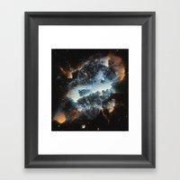 Nebula NGC 5189 Framed Art Print
