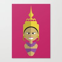 Thai Doll Canvas Print