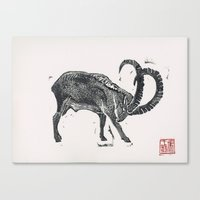2015 Year Of The Goat Canvas Print
