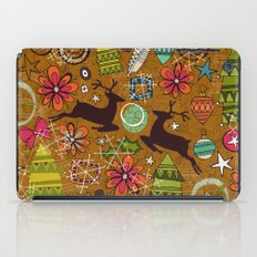joyous jumble gold iPad Case