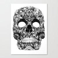 skull face Canvas Print