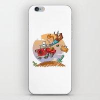 Tintin And Snowy! iPhone & iPod Skin