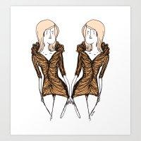La Robe. Art Print