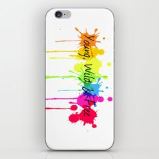 Young, Wild and Free iPhone & iPod Skin