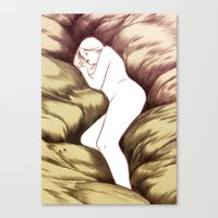 Sleeping Ghost Canvas Print
