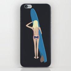 Wave Check iPhone & iPod Skin