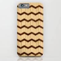 Wooden Chevron iPhone 6 Slim Case