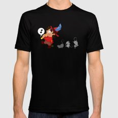 The Pied Piper of Hamelin  Mens Fitted Tee Black SMALL