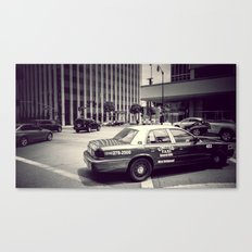 Beverly Hills - Taxi - Wilshire Boulevard Intersection Canvas Print