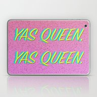 Yas Queen, Yas Queen. Laptop & iPad Skin