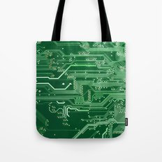 Electronic circuit board Tote Bag