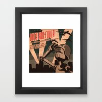 Propaganda Series 2 Framed Art Print