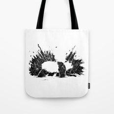 Whiteout Blackout Tote Bag