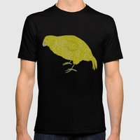 Kakapo Says Hello! Mens Fitted Tee Black SMALL