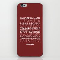 London — Delicious Cit… iPhone & iPod Skin