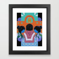 A Mission Framed Art Print