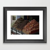Spice Shop Framed Art Print