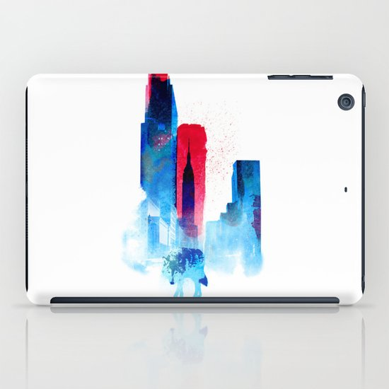 The wolf of the City iPad Case