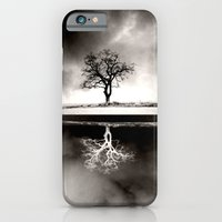iPhone & iPod Case featuring TREE REFLECTION by ALLY COXON