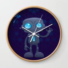 Waving Robot Wall Clock