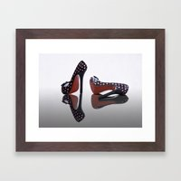 Shoes, Glorious Shoes Framed Art Print