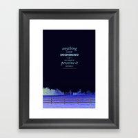 Inspirational Pieces Framed Art Print