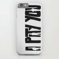 iPhone & iPod Case featuring I Pity You -Paths of Glory by Zachary Burns