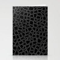 British Mosaic White And… Stationery Cards