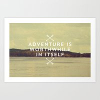 Worthwhile Art Print