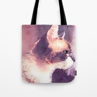 Cat Nick Tote Bag