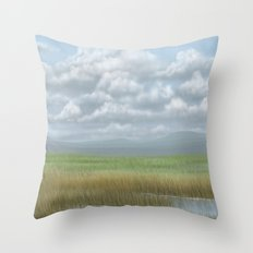 Cloudy sky 2 Throw Pillow