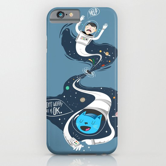 Across the dark hole iPhone & iPod Case