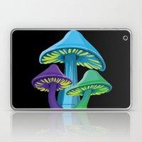 Alice's Shrooms - Dark Laptop & iPad Skin