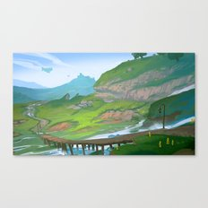 Distant Land Canvas Print