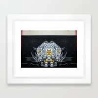 separate creature Framed Art Print