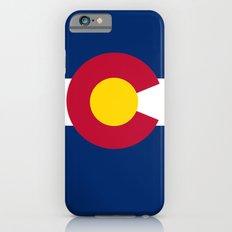 Colorado State Flag - Authentic version iPhone 6 Slim Case