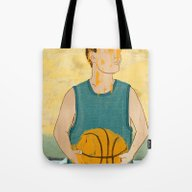 Tote Bag featuring Losing My Love For Baske… by Daniel Fishel