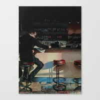 Sophie's Steakhouse Canvas Print